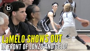 lamelo-shows-out
