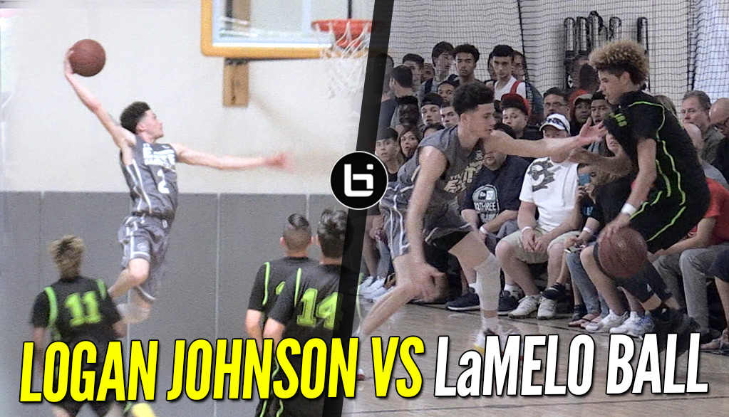 Logan Johnson V LaMelo Ball – Lopsided Game Gets Heated!