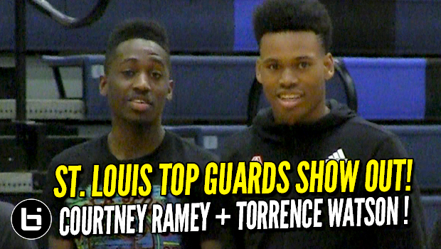 Future Louisville PG Courtney Ramey & Torrence Watson Show Out Before The Gauntlet!