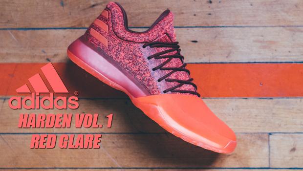 adidas Unveils Harden Vol. 1 Red Glare