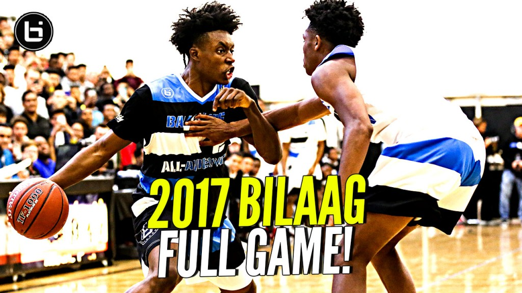 2017 Ballislife All American FULL Game! Collin Sexton, Jaylen Hands, Gelo Ball, B McCoy & More!