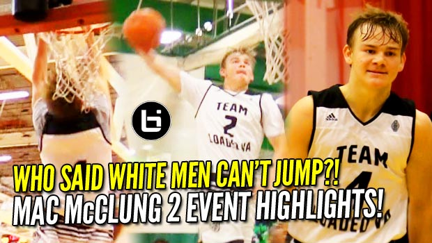 What Has Riff Raff Buzzin?! 6'1″ Mac McClung: White Boy with BOUNCE! 2 Event Raw Highlights!