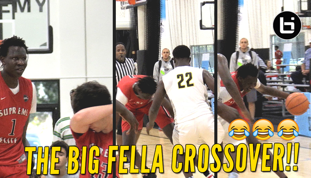 Shareef O'Neal and Bol Bol Coast To Win; Bol Hits Nasty Crossover!