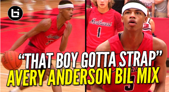 He's Gotta CERTIFIED PULL-UP GAME! Avery Anderson Ballislife Soph Mixtape!