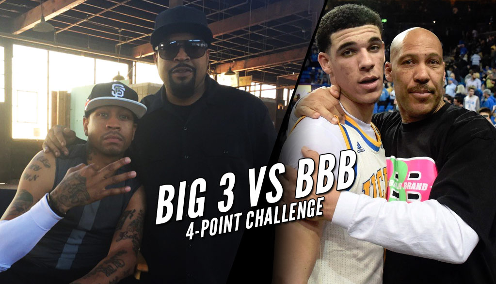 Ice Cube Challenges LaVar Ball, Will Buy 10 Pairs of BBB Shoes If Ball Can Hit A Big3 4-Point Shot