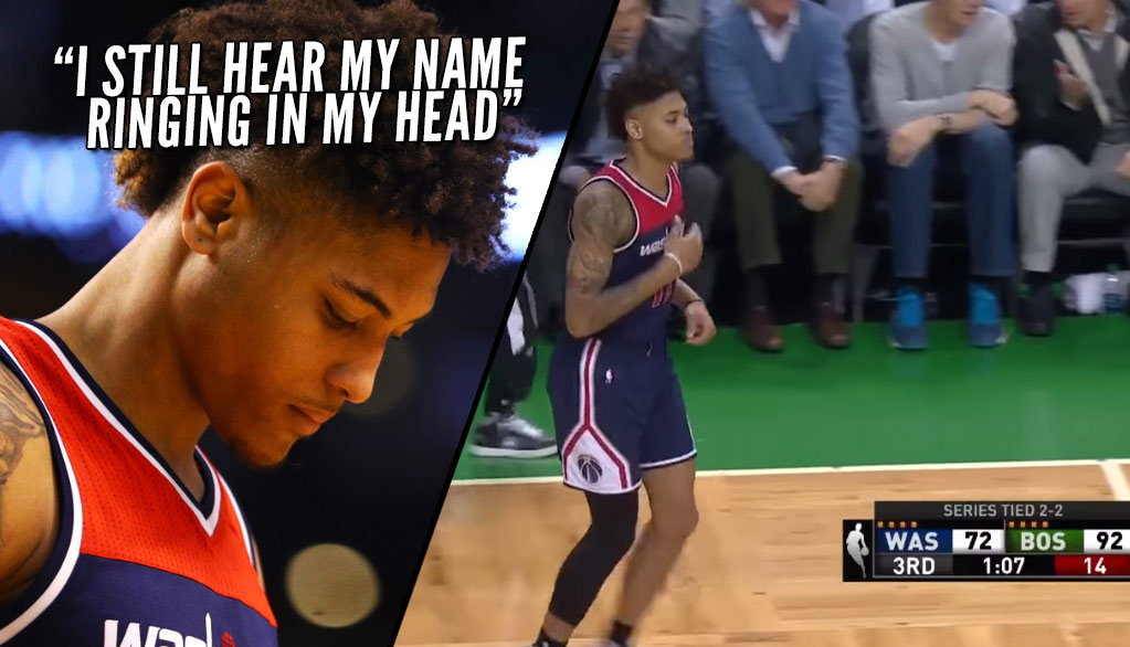 "Celtics Fans Chanted ""We Want Oubre"" Then ""F*** You Oubre"" When He Checked In"