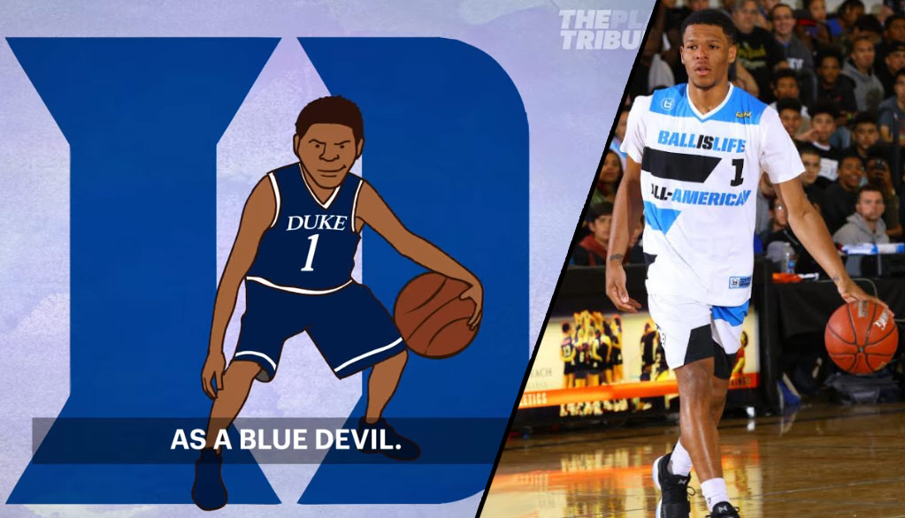 Trevon Duval Announces He Will Be Taking His Talents To Duke Via A Funny Cartoon