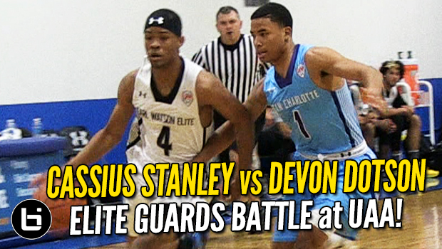 Cassius Stanley vs Devon Dotson! Elite Guard Matchup at UAA!
