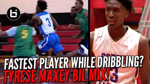One Of The Fastest Players While Dribbling? Tyrese Maxey Soph Mix