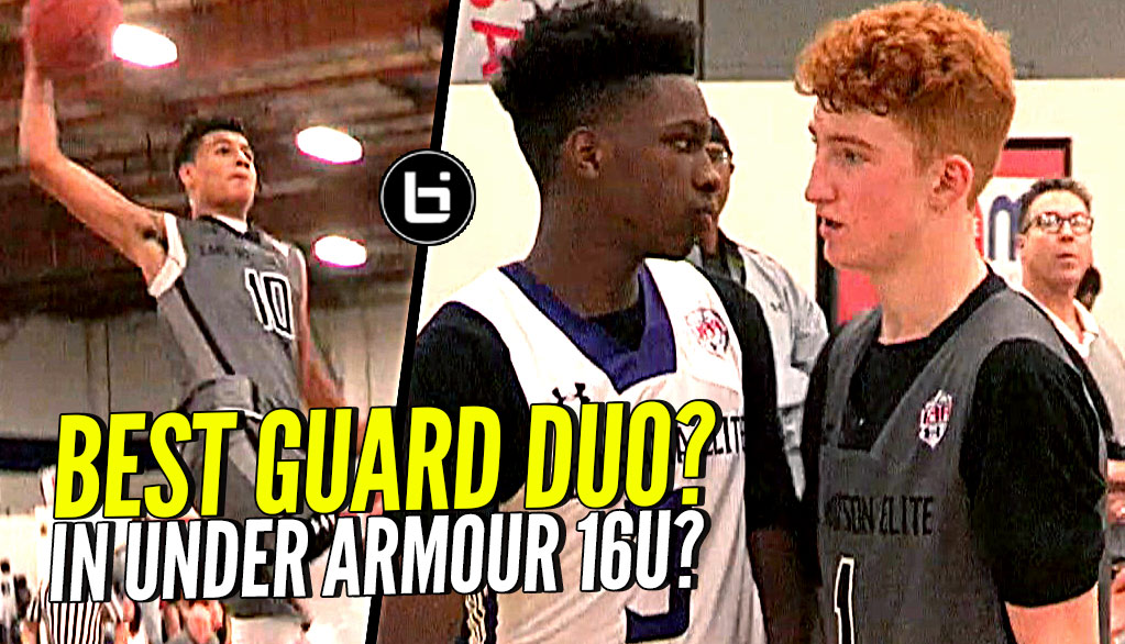 #1 Young PG Nico Mannion & Josh Green TOO MUCH TO HANDLE! Best Young Backcourt Duo in UAA??