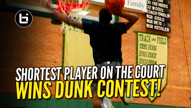 The SHORTEST PLAYER WINS Metroplex24 Dunk Contest! Heart Over Height!