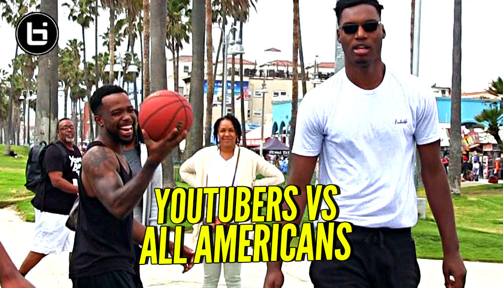 YouTubers vs All Americans!