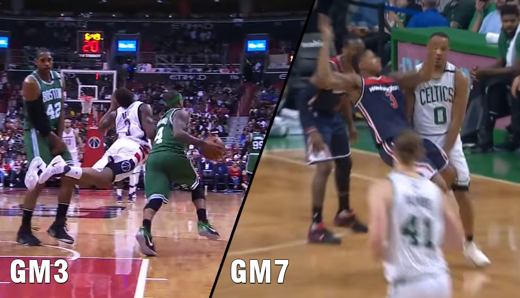 """Bradley Beal's Flop In GM7 Was Great But Not As Great As His """"Flopping Fish"""" In GM3"""