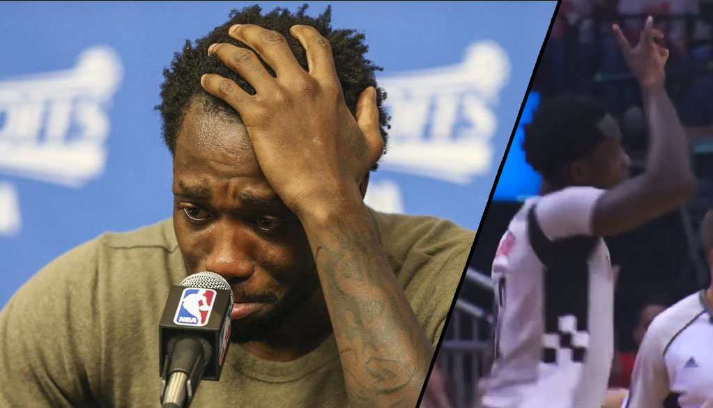 Patrick Beverley Plays In GM4 After Finding Out His Grandfather Had Passed
