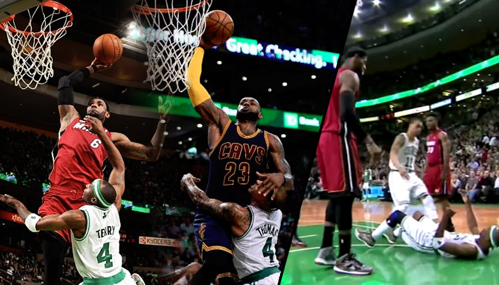 LeBron & Isaiah Thomas Tried To Recreate LeBron's Dunk On Jason Terry