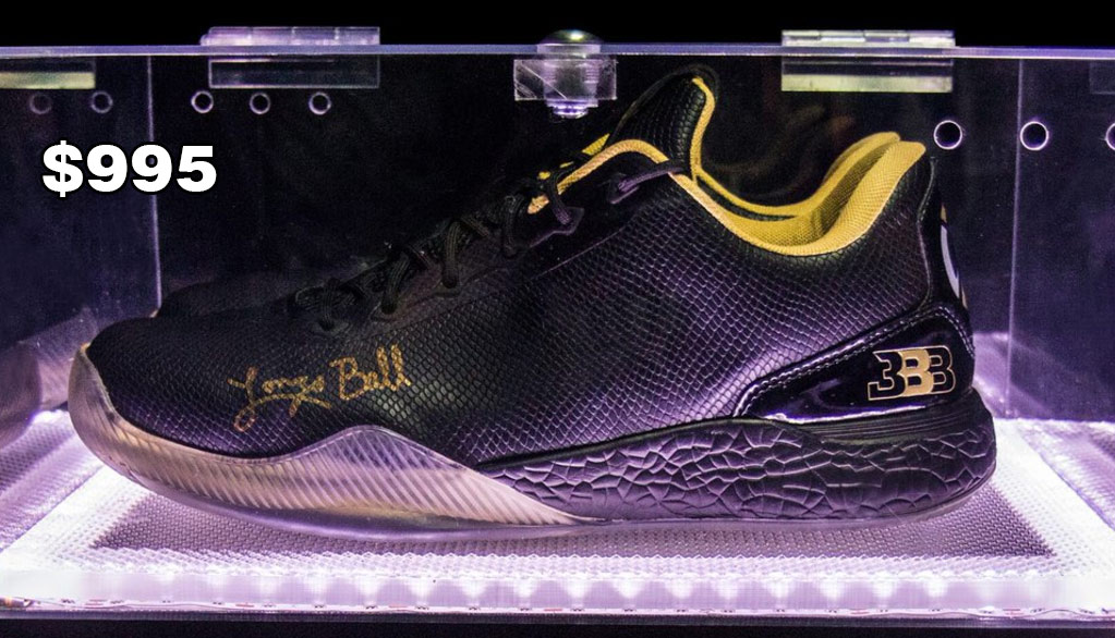 Big Baller Brand Releases $495 & $995 Lonzo Ball Sneakers