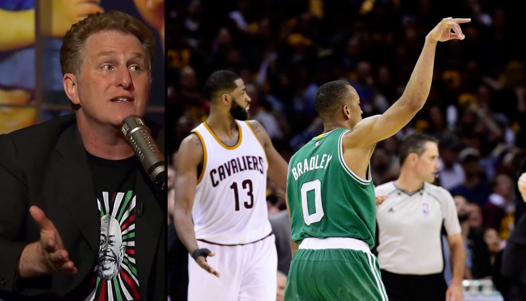 Actor Michael Rapaport Hilariously Loses It While Watching Avery Bradley's Game-Winner In GM3