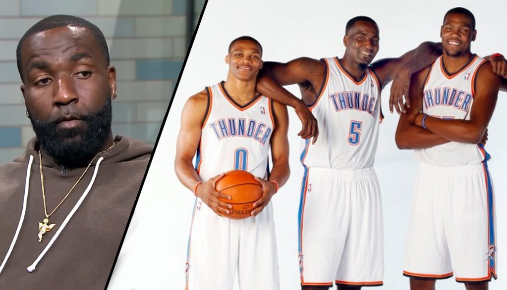 Kendrick Perkins On Durant and Westbrook Possibly Playing Together Again In OKC
