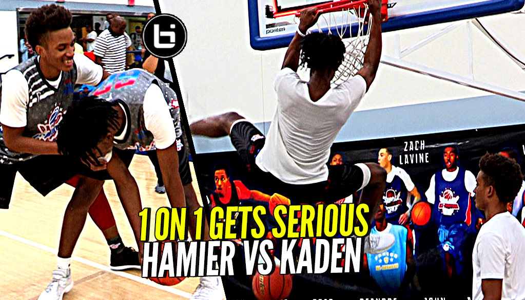 1 on 1 Hameir Wright vs Kaden Archie!! Game Got a Little SERIOUS!! Part 2 Coming Soon?
