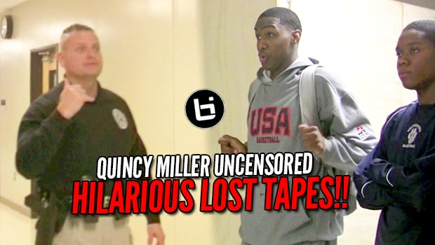 What Happens When Quincy Miller Steals the Camera?? Hilarious Lost Tapes!