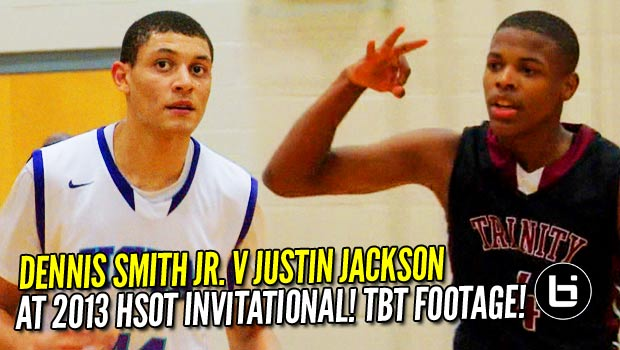 Dennis Smith Jr. v Justin Jackson: NBA Lottery Picks Battle in 2013! (Combine for 83!!!)