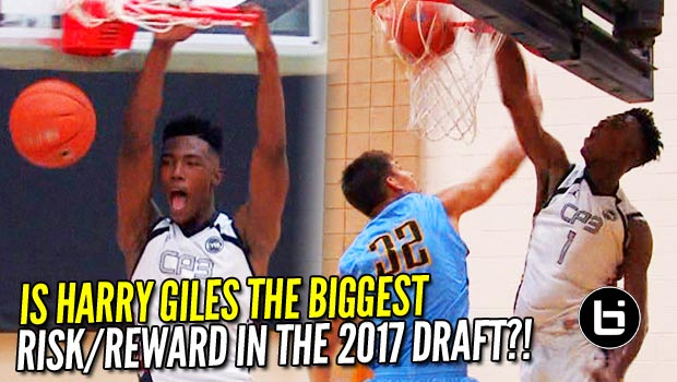 Is Harry Giles the Biggest Risk/Reward of the 2017 NBA Draft?! AAU Highlights