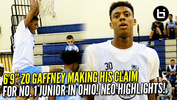 6'9″ Alonzo Gaffney is Ohio's no. 1 Junior! 2017 NEO Top Performer!