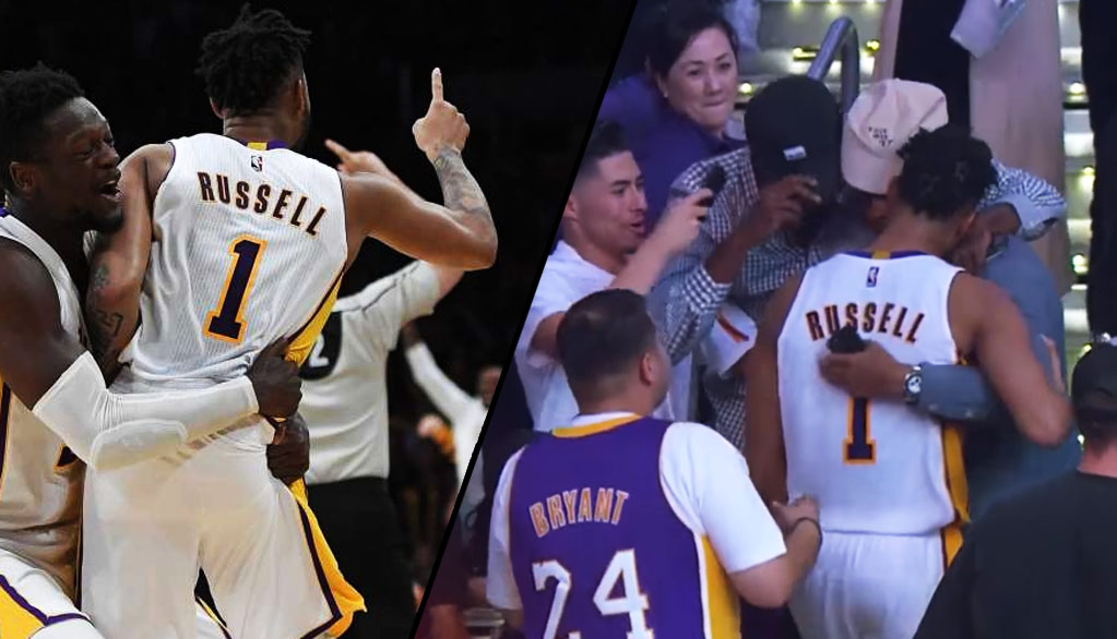 Remembering D'Angelo Russell's Emotional Last Game With The Lakers, Dedicated To His Grandmother Who Passed Away Earlier In The Day