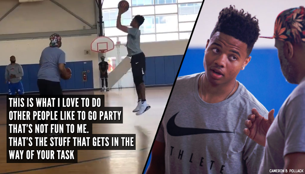 In The Gym With Markelle Fultz & His Trainer/Mentor/Father Figure Keith Williams