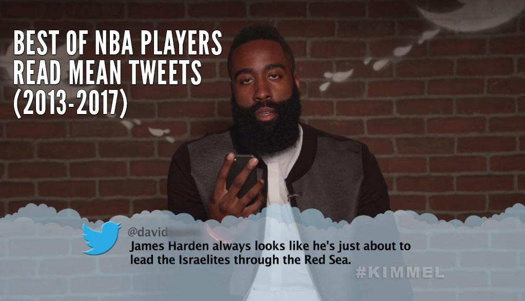 Best Of NBA Players Read Mean Tweets (2013-2017)