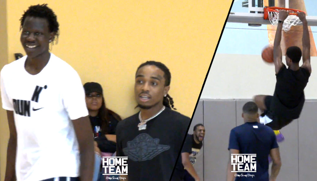 Quavo Has Game! Just Ask Shareef O'Neal