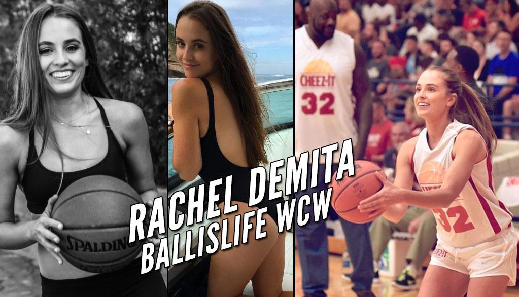 Every Hoop Fan's Dream Girl: Rachel DeMita