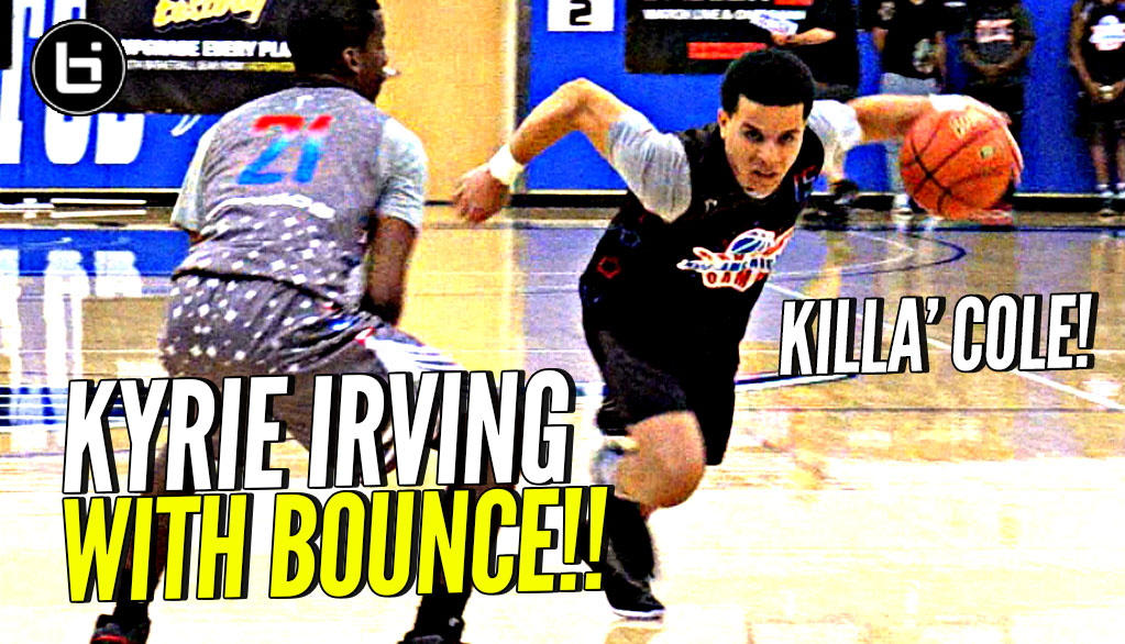 MEANEST CROSSOVER In High School!? Cole Anthony Is Like a Kyrie Irving w/ BOUNCE! Killa' Cole!