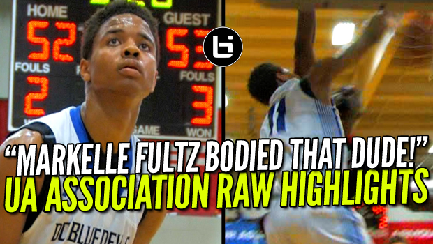 That Time Markelle Fultz BODIED A DEFENDER But No One Else Was Even Filming! Raw Highlights