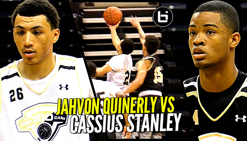 Jahvon Quinerly vs Cassius Stanley! JQ Goes FULL Jelly Mode at NBPA Top 100 Camp!