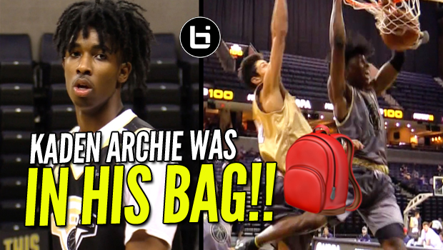 Kaden Archie Was In His Bag At NBA Top 100 Camp! Raw Highlights