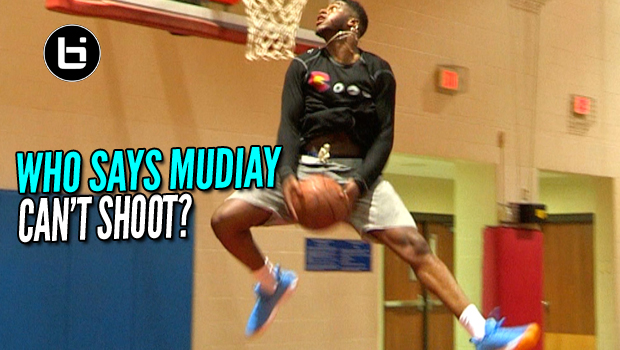 Emmanuel Mudiay Showing Off That Brand New & Improved Shot!
