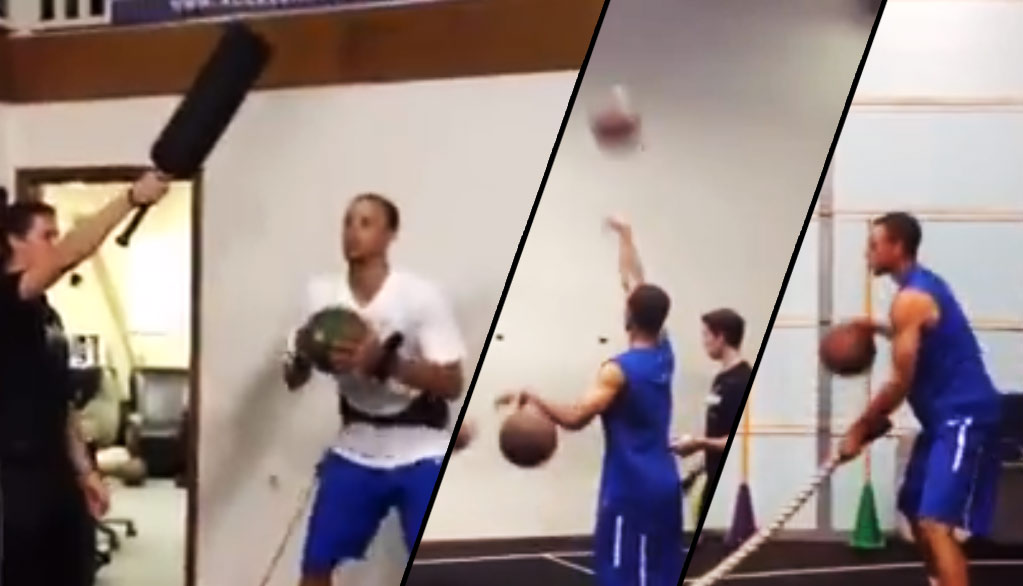 "Motivation: Steph Curry's 3-Hour ""No Days Off"" Summer Workouts"