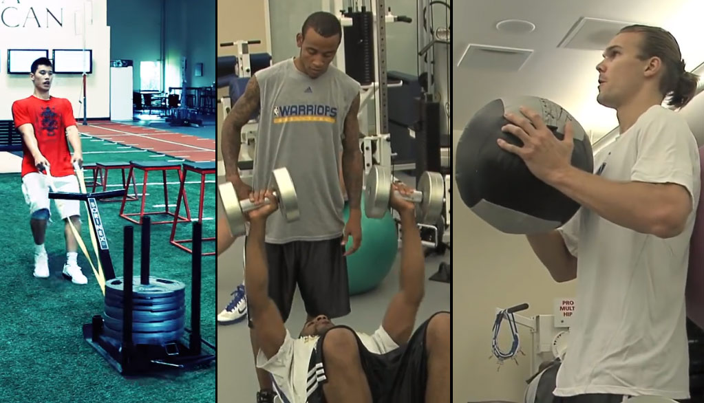 Motivation Workout With Jeremy Lin & The 2010 Warriors You Probably Don't Remember