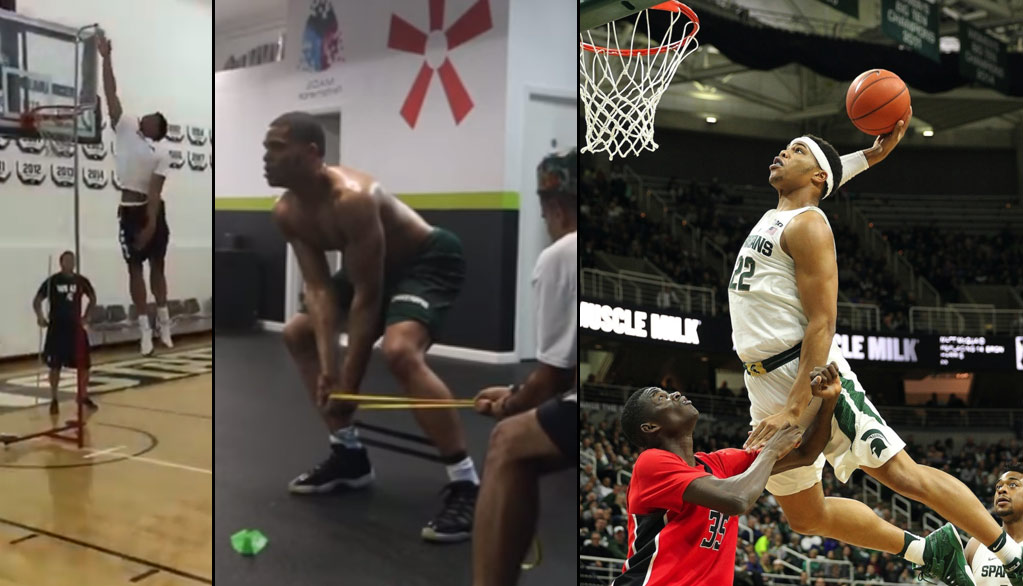 Michigan State's Miles Bridges Motivation Workout Mix