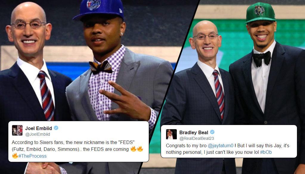 NBA Players React To The 2017 NBA Draft