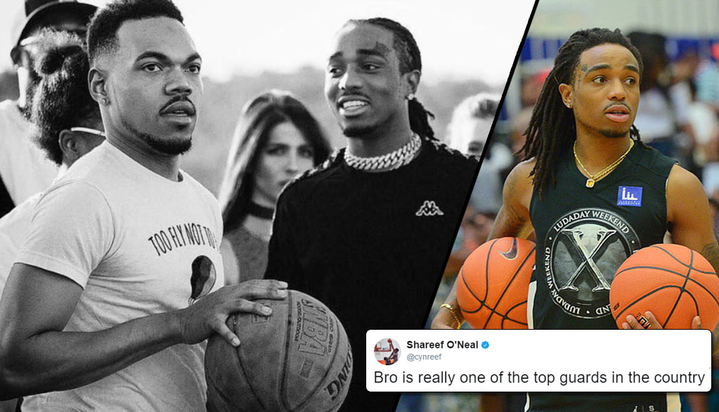 Quavo's Best Basketball Videos + Migos & Chance The Rapper Play Knockout For $100K!?
