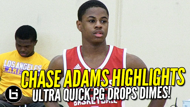 Chase Adams highlights! Quick PG Drops Dimes at 2017 Chicago Classic!