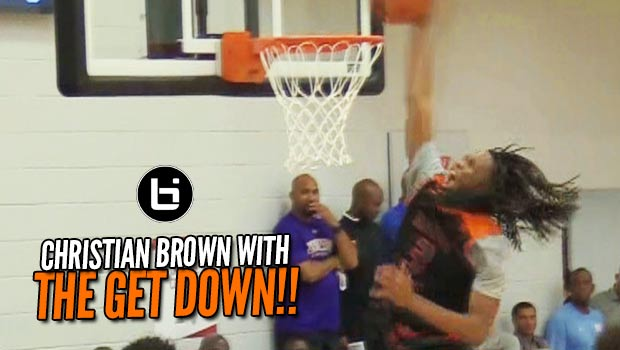 Christian Brown Backs Down from NO ONE!! Part of the Game Elite 3-Headed Monster!
