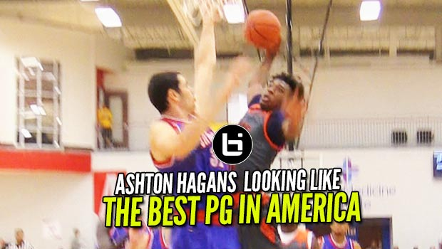 Oak Hill's Ashton Hagans Looking Like THE BEST PG in America at Adidas Finale