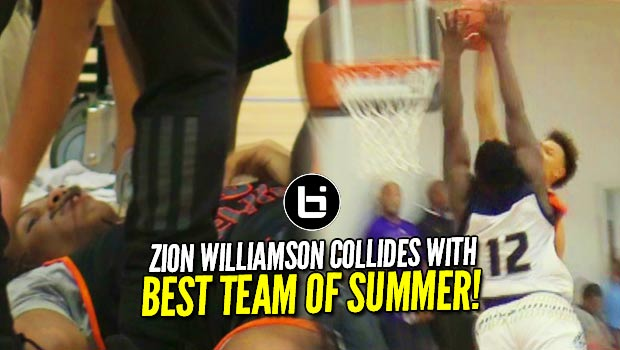 Zion Williamson Put on a Poster?!? NOT TODAY! Faces Christian Brown & Best Team of Summer