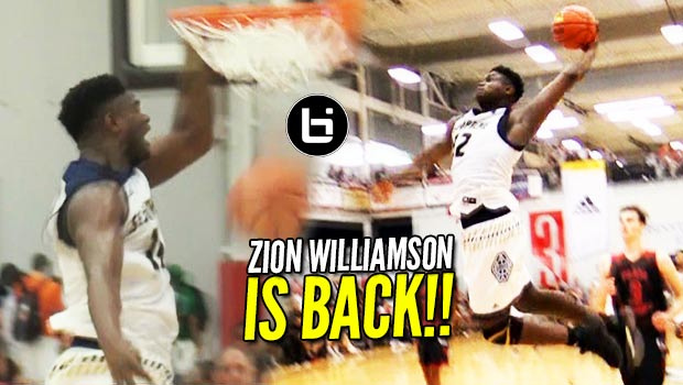 Zion Williamson is BACK! 31 Points in a COMEBACK WIN at adidas Finale!