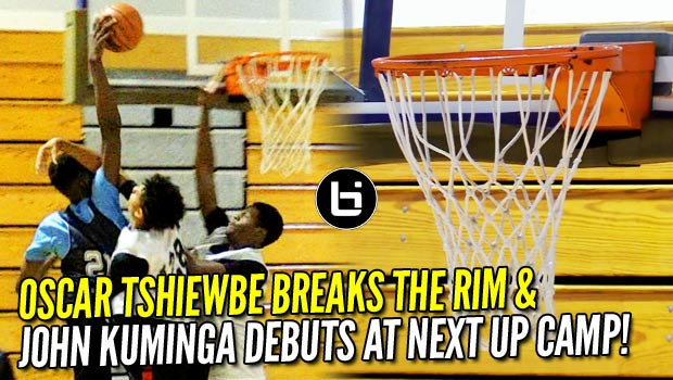 Oscar Tshiewbe BREAKS the Rim & John Kuminga Makes his Debut! NextUp Camp Top Performers!