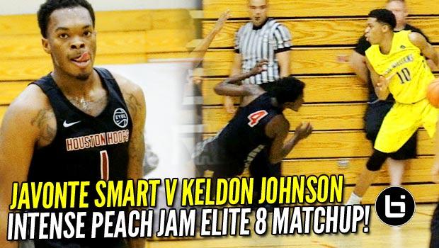 Keldon Johnson DROPS Defender at Peach Jam Elite 8! Boo Williams v Houston Hoops Highlights!