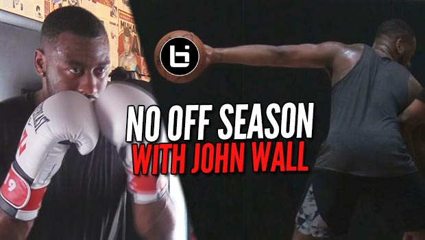 John Wall Throws Hands in the Yams! | NO OFF SEASON | episode 1